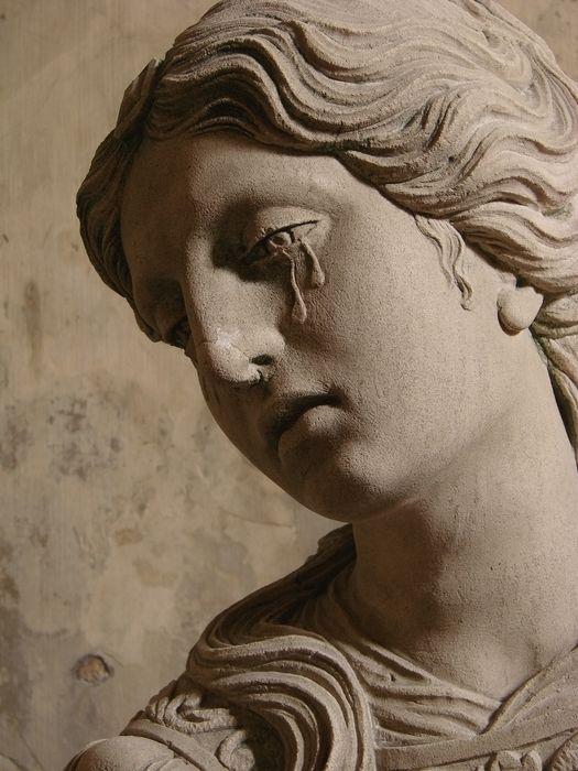 chagrin de femme